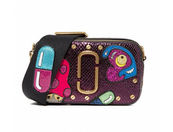 MARC JACOBS Snapshot Mushroom Leather Camera Bag