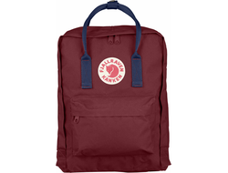 Рюкзак Fjallraven Kanken Ox Red/Royal Blue (Mini)