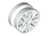Wheel 11mm D. x 6mm with 8 'Y' Spokes, White (93595 / 4623351)