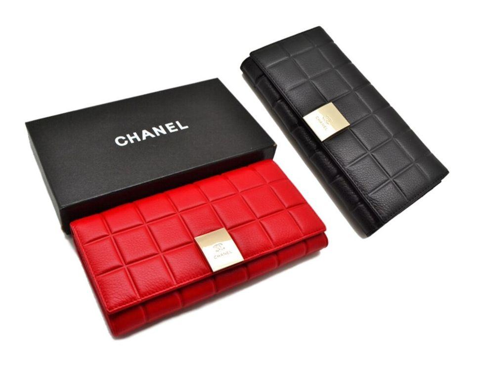 Купить кошелек женский кожаный CHANEL со скидкой в Москве be367502fc3