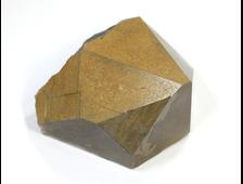 Кварц дымчатый (раухтопаз), кристалл в сидеритовой рубашке, Приморский край (65*60*45 мм, 215 г) №19926