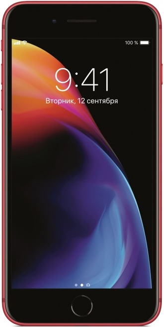 Apple iPhone 8 Plus - Red