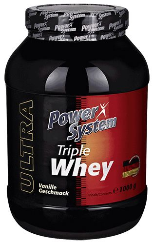 Triple Whey Protein (Power System) 1000 g