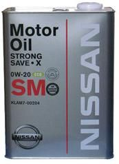 Nissan Strong Save X   0w-20  (4л)
