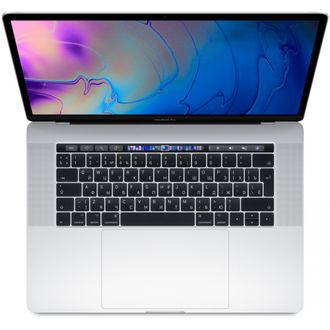 "MacBook Pro 15"" Core i7 2,2 ГГц 16ГБ 256ГБ Touch Bar, серебристый MR962 - купить в istore-moscow.ru"