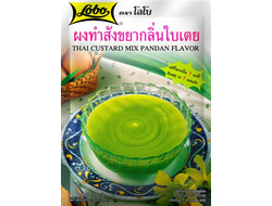 THAI CUSTARD MIX PANDAN FLAVOUR (Lobo) 120 g