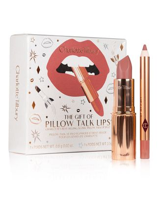 CHARLOTTE TILBURY The Gift of Pillow Talk Lips( 3.5g, 0.8g ) Набор для губ