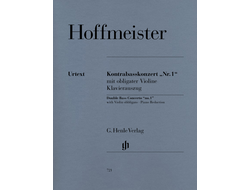 "Hoffmeister Double Bass Concerto ""no. 1"""