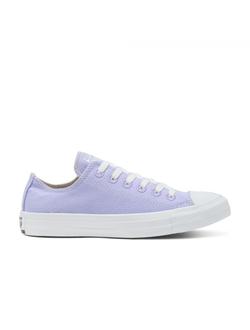 Кеды Converse Chuck Taylor All Star Renew Cotton Low Top фиолетовые низкие