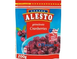 Клюква сушеная ALESTO Cranberries, 200гр