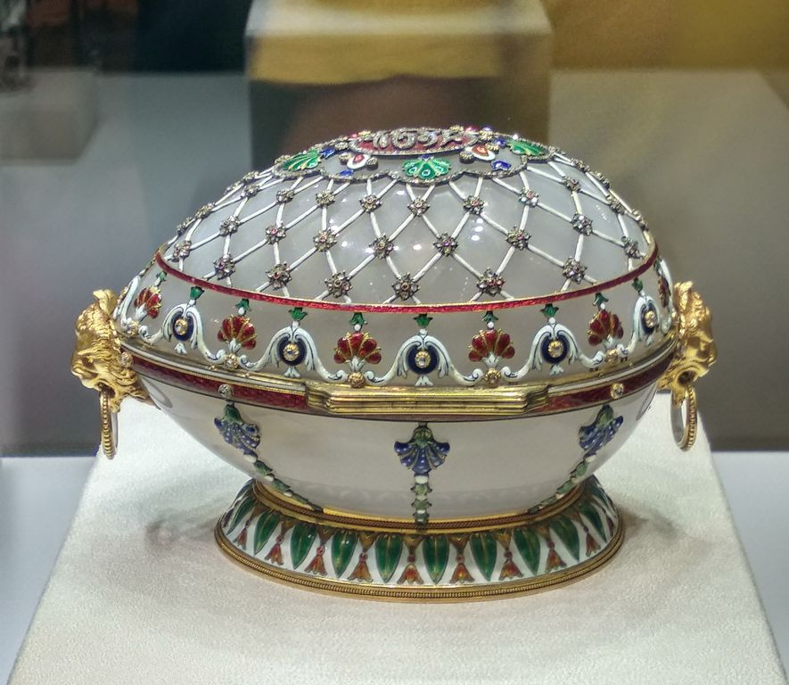 Faberge Museum in Sankt Petersburg