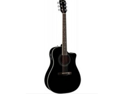Fender CD-140SCE Dreadenought Black