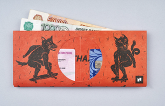 Кошелек New Wallet Skateanimal в интернет магазине Bagcom
