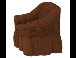 Чехол Стандарт на кресло, цвет Кофе