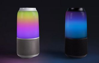 Колонка Xiaomi Velev V03 colorful lighting and sound черная