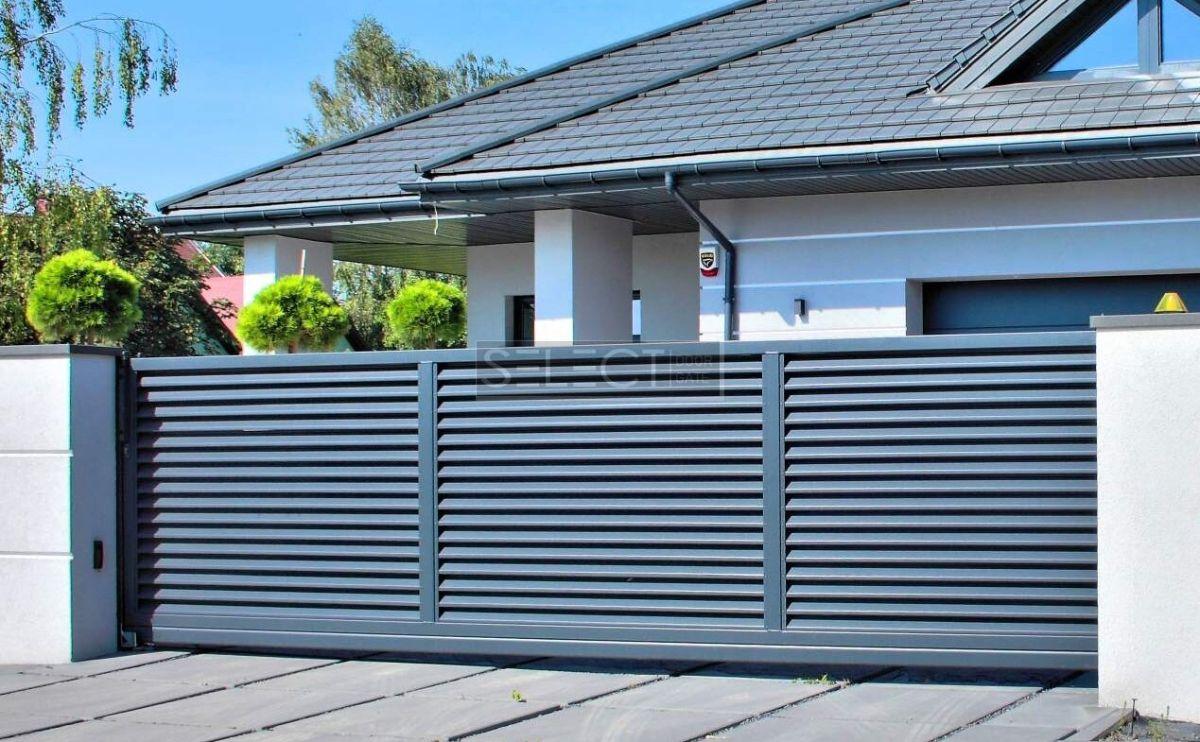 заборы и ворота select - Оцинкованная сталь - порошковая покраска