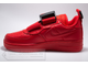 Кроссовки Nike Air Force 1 Utility Red женские арт. N918