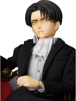 Кукла 1/6 Real Action Heroes Levi Ackerman Suit Ver. (Леви Аккерман)