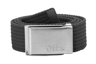 Ремень Fjallraven Merano Canvas Belt Dark Grey