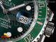 Submariner 116610 LV Green Ceramic ARF 1:1 Best Edition 904L SS Case and Bracelet SH3135 V4