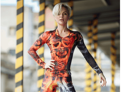 "Bona Fide: Rashguard ""Road to Hell"""