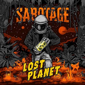 Lost Planet: Mango, Mint & Passion Fruit, Sabotage Brewery 0,5л.