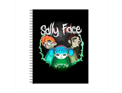 Tетрадь Sally face №8