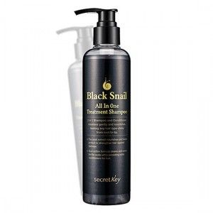 Шампунь улиточный Secret Key Black Snail All in One Treatment Shampoo 250мл