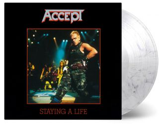 ACCEPT - STAYING A LIFE 2-LP