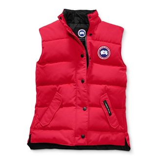FREESTYLE VEST WOMEN RED