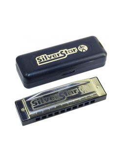 Hohner M50406 Silver Star F-major