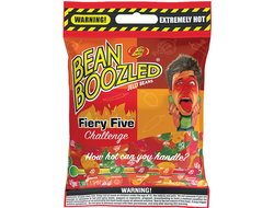 """Jelly Belly"" ассорти Bean Boozled Flaming Five (супер острые) 54г США"