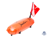 Буй Marlin TORPEDO PVC orange