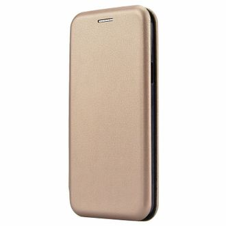 Чехол-книжка для Samsung J6 (2018) Fashion Case (золотой).