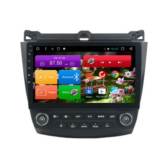 "Автомагнитола MegaZvuk T8-1056 Honda Accord 7 (2002 - 2007) на Android 8.1 Octa-Core (8 ядер) 10,1"" Full Touch"