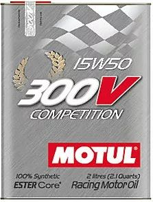 Motul 300v COMPETITION 15w50 2Л