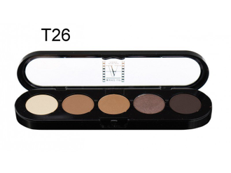 T26 Make-up Atelier Paris, Тени палитра 5 цветов