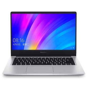 "Ноутбук Xiaomi RedmiBook 14"" Enhanced Edition (Intel Core i7 10510U 1800 MHz/14""/1920x1080/8GB/512GB SSD/DVD нет/NVIDIA GeForce MX250 2GB/Wi-Fi/Bluetooth/Windows 10 Home) Серебристый"