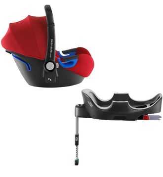 Britax roemer baby-safe i-size и база flex Flame Red