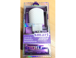 СЗУ Smart Charger K.FULAI 2USB 2.4A KA-07 Lighning