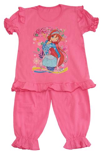 Пижама для девочки (Артикул 342-022) цвет коралловый
