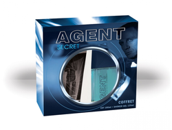 Agent Secret gift set for men