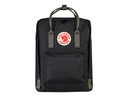 Рюкзак Fjallraven Kanken Black Striped (Mini)
