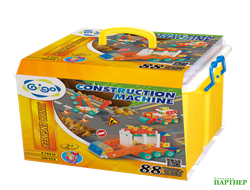 Юный инженер JUNIOR ENGINEER- CONSTRUCTION MACHINE 160 PCS/SET / Юный инженер 2, 2+