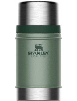 Термос STANLEY The Legendary Classic Food Jar, 0.7л, зеленый