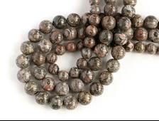 Бусина Яшма леопардовая, шар 8-8,5 мм (1 шт) №14580