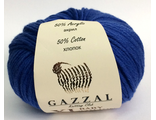 GAZZAL BABY COTTON XL 3421 синий электрик