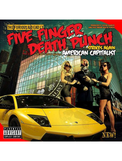 Five Finger Death - American Capitalist CD