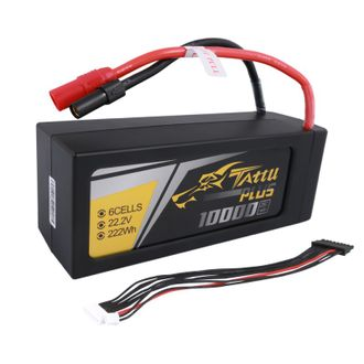 TATTU PLUS 10000MAH 22.2V 25C 6S1P LIPO АККУМУЛЯТОР