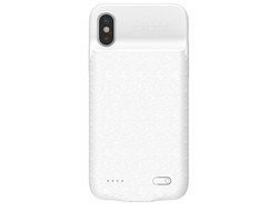 Baseus iPhone X Powerbank Case - белый